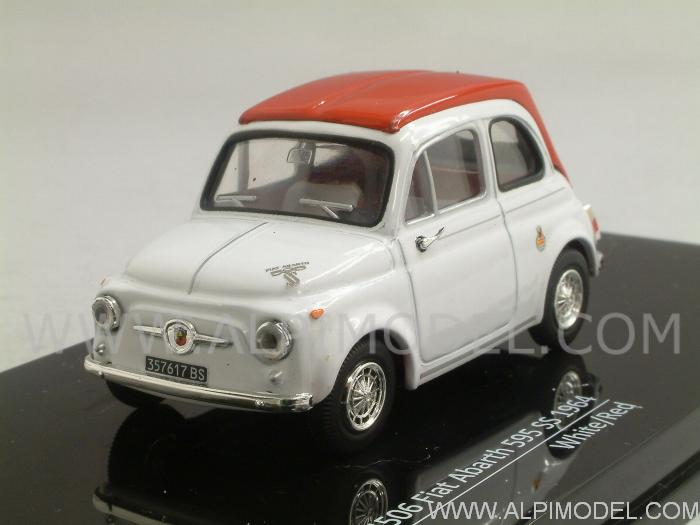 Fiat Abarth 595 Ss 1964 White Red